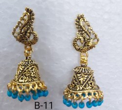 Golden Shade Earrings