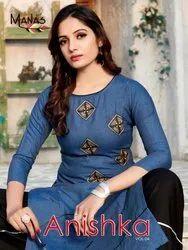 Manas New Kurti With Palazzo For Ladies Wear