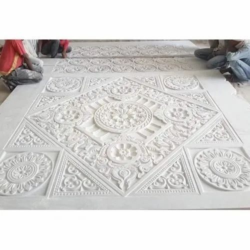 Polished Indoor Marble Carving Craft
