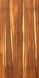 Smoked Sappy Tigerwood Veneer Sheet
