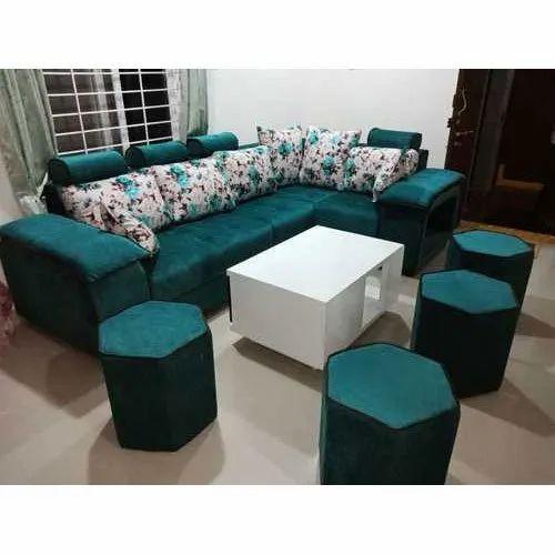 Green Designer Modern Sofa Set Rs 20000 Set Aj Furnitures Id 20478929555