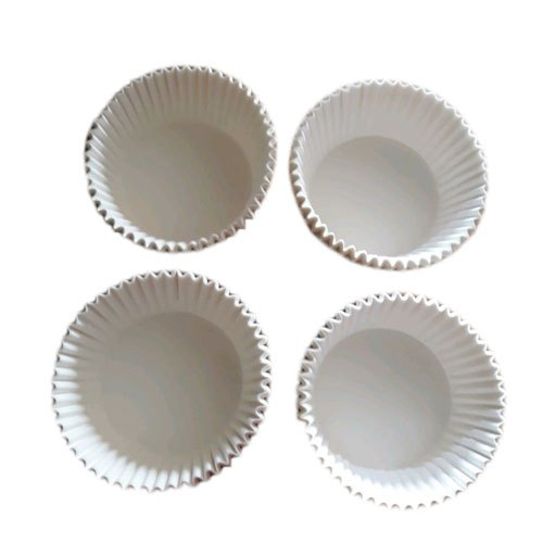 Paper White Plain Muffin Cup