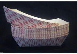 Food Serving Paper Boat, Packaging Type: Carton Box