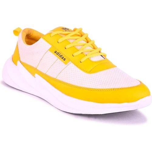 Men yellow Track Shoes, Size: 6-10, Rs