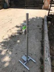 Iron Foot Operated Sanitizer Dispenser