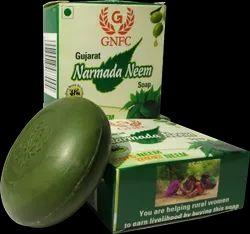 GNFC Neem Seed Oil Based Gujarat Narmada Neem Soap - 75 gm, Packaging Size: Box, for Personal