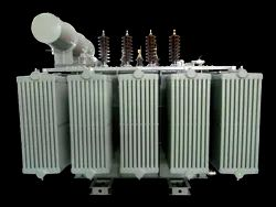 Oil Cooled Copper Power Transformer, For Industrial, Plinth