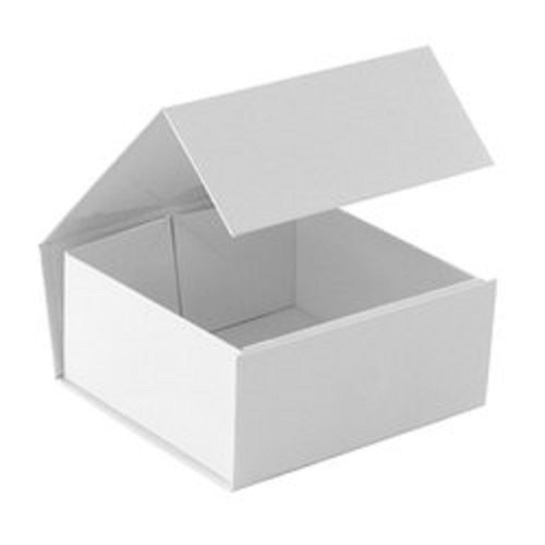 Cardboard White Foldable Corrugated Box, For Industrial, Box Capacity: 1-5 Kg
