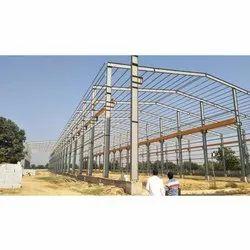 Industrial Mild Steel Roofing Structure