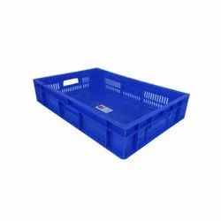 64180 SP Blue Plastic Crate
