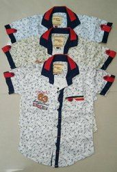 Cotton Boys Children Shirts