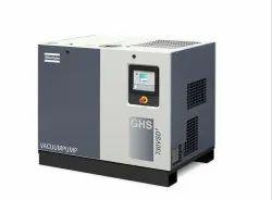 Atlas Copco GHS VSD Oil-Sealed Rotary Screw Vacuum Pumps, Power: 380/460 V