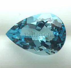 Sky Blue Topaz Gemstone For Rings