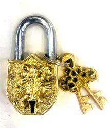 Chritmas Sale Door Lock Handmade Brass Antique Padlock (Lock): Hanuman Bajrangbali