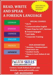 5 French Language Classes, Every Month