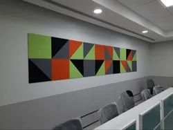 Acoustical Wall Panel, For Sound Absorbers, Square