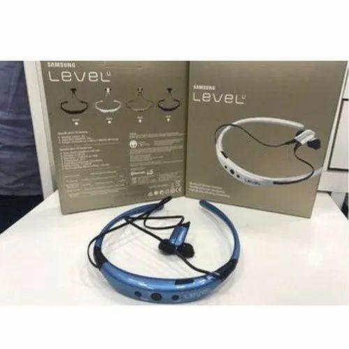 Black And Blue Samsung Level U Wireless Headphone Rs 450 Piece Id 20571995548