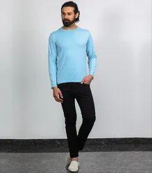 Besimple Ice Blue Full Sleeve T-Shirt