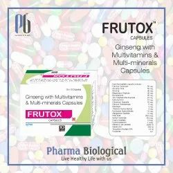 Antioxidant,Multivitamin & Multimineral Capsules With Ginseng
