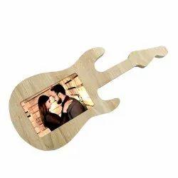 VWF-Guitar Wooden LED Frame