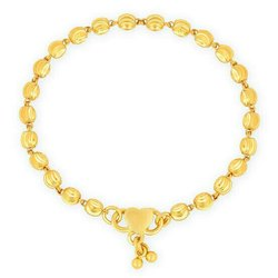 Mansi Jewellers Gold Anklets