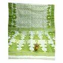 Ladies Embroidery Cotton Saree