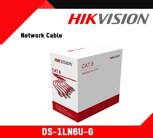 Hikvision 305M CAT6 UTP Network Cable, Model Name/Number: DS-1LN6U-G