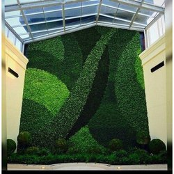 Decorative Natural Green Moss Wall