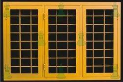 Modern Rectangle Pressed Steel Swing Windows