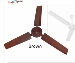 High Speed Brown 48 Inch High Breeze Plus Ceiling Fan
