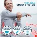 HealthOxide Omega 3 Fish Oil