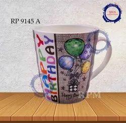 Printed Birthday  Ceramic Mug