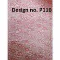 P116 Non Woven Metallic Printed Fabric