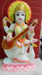 Beautiful Statue Maa Saraswati