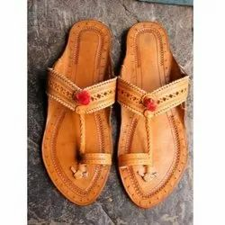Traditional Genuine Leather Kolhapuri Chappals