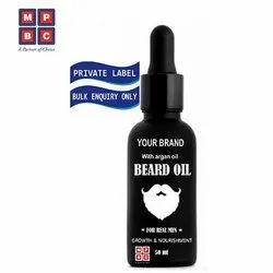 OEM or Private Label Growth and Nourishment Beard Oil with Argan Oil