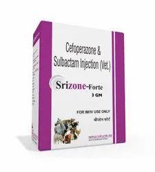 3 Gram Ceftriaxone and Sulbactam Injection (Vet)