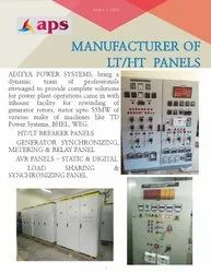 Upto 4000a Three Phase HT/LT BREAKER PANEL, For Power Plant