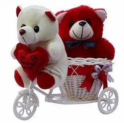 Teddy With Tricycle Gift Set