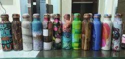 Copper Bottles, Packaging Type: Box