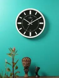 Zanibo Analog 2085 Steel Wall Clock, For Home and Offices, Size: 305x305 Mm