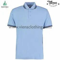 Men Half Sleeve Polo Tshirt