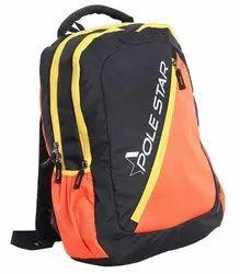 Grey Polyester Fleek Backpack, Capacity: 32 Liter