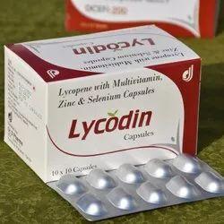 Lycopene With Multivitamin Zinc and Selenium Capsules