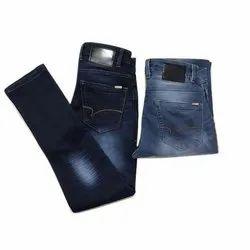 Kaka Jeans Casual Wear Mens Faded Denim Jeans, Waist Size: 36.0