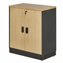 Fonzel Wooden Swinging Door Cabinet With Base