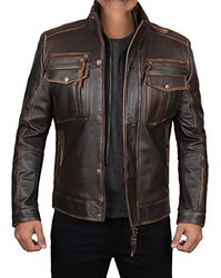 Premium Quality Men Leather Jacket