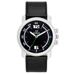 Men Rubees Analog Black Color Watch