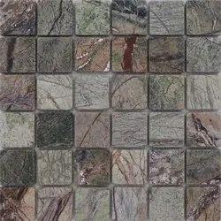 Capstona Stone Mosaics Lush Green Forest Tiles