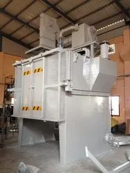 Hanger Type Spinner Hanger Shot Blasting Machine